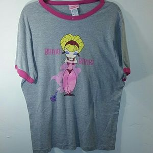 Tops - I DREAM OF JEANNIE tee size 16W